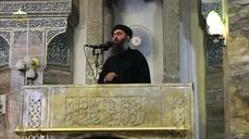 Video purports to show IS leader in Iraq