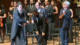 Peruvian tenor Florez performs with youth symphony