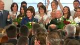 Triumphant eurosceptics declare victory in Polish election