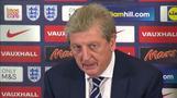 England's Hodgson speaks of poignant night against France