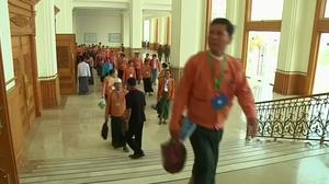 Last Myanmar Parliment session under current government