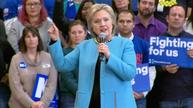 Clinton: Wall Street support