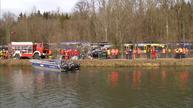 Nine dead, scores hurt in German train crash