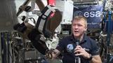 Astronaut to run London Marathon in space