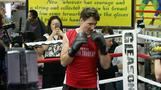 Canada's PM Trudeau goes boxing in NY