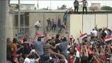Protesters storm Baghdad's Green Zone