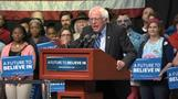 "Sanders takes aim at ""rigged system"" of superdelegates"