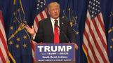 Trump looks to knock out Cruz in Indiana