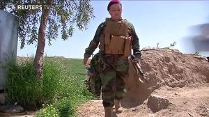 Iraq's frontline females battle Islamic State