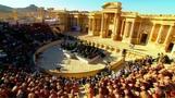 ISから解放されたシリアの遺跡で、ロシアの管弦楽団がコンサート(5日)