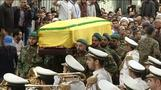 Top Hezbollah chief buried, Israel suspected in his death