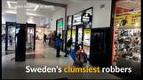 Are these Sweden's clumsiest robbers?