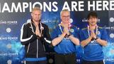 Leicester takes victory lap to Bangkok