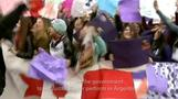 Argentine Justin Bieber fans protest