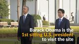 Obama visits site of world's first atomic bombing