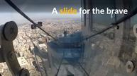 Glass slide to open atop Los Angeles highest skyscraper