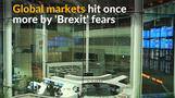 'Brexit' fears drive markets down, hitting British pound and stocks