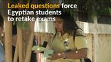 Egyptian students up in arms for having to retake exams
