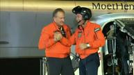 Solar-powered plane completes flight around the world