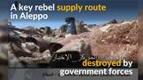 Syrian army cuts off supply routes into Aleppo