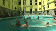 Taking life slowly at a Hungarian bath house