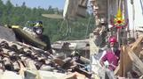 Rescue workers continue search after Italy quake