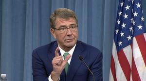 Carter tells Turkey not to target Syria rebels