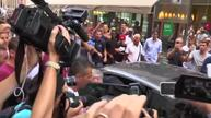 England 'keeper Hart gets chaotic welcome in Turin