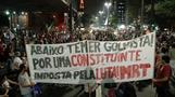 Tear gas fired at impeachment protesters in Sao Paulo