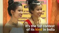 In India, a beauty pageant for the visually impaired