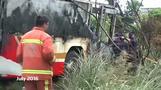 Taiwan tour bus crash 'suicide'