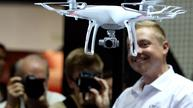 Drone maker DJI lands in bustling Hong Kong