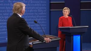 Opening rounds in Presidential debate