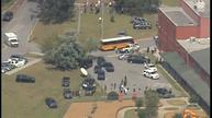 Teenage suspect caught in shooting of adult, two kids at South Carolina school