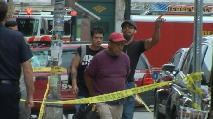Train crashes through New Jersey's Hoboken station