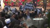 Hong Kong raises flag for China anniversary
