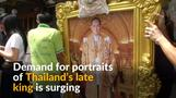 Demand surges for images of Thai king