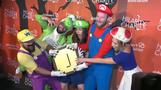 Stars get spooky for charity
