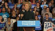 'Peaceful transition sets us apart' - Clinton