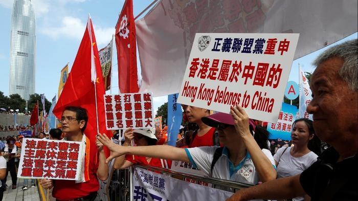 Chaos reigns in Hong Kong's legislature