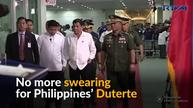 Philippines' Duterte has a change of heart following a message from God