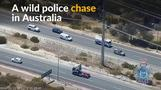 Australian police chase goes to new depths as man jumps into river