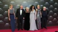 Pirelli calendar stars walk red carpet in Paris