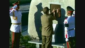 Interrment ends Cuba's nine days of mourning
