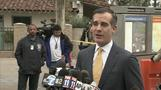 "L.A. rail system ""safe and secure"": mayor"