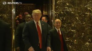 Japan's SoftBank pledges $50 bln to Trump's economic plan