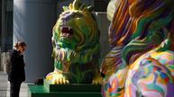 HSBC lions spark divisive LGBT debate in Hong Kong