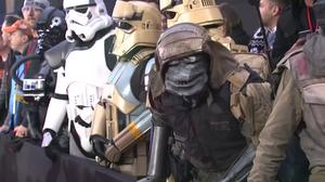 Star Wars takes over Hollywood as 'Rogue One' launches