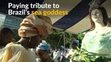 Hundreds gather in Brazil to honor sea goddess