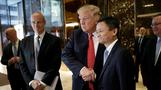 Alibaba CEO pitches U.S. jobs plan to Trump